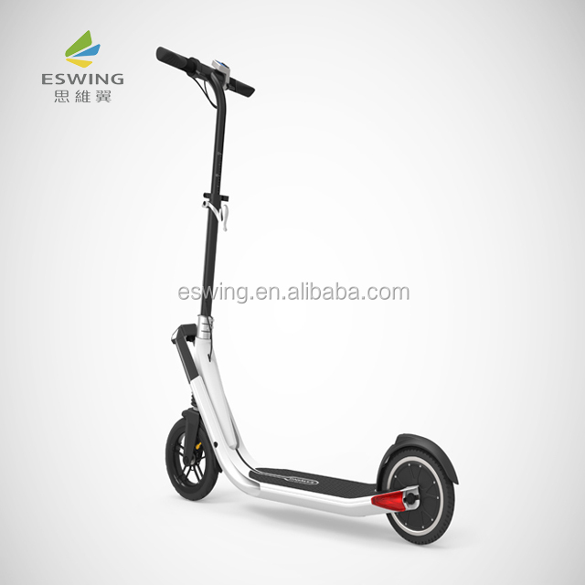 2019 eswing hot sell foldable lightweight 9.2kg made in china scooter electric for adult