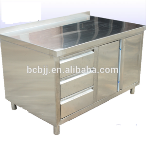 Stainless Steel Commercial Cabinets Standing Kitchen Cupboards