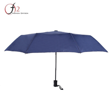 Factory travel transparent plastic dome 3 fold umbrella