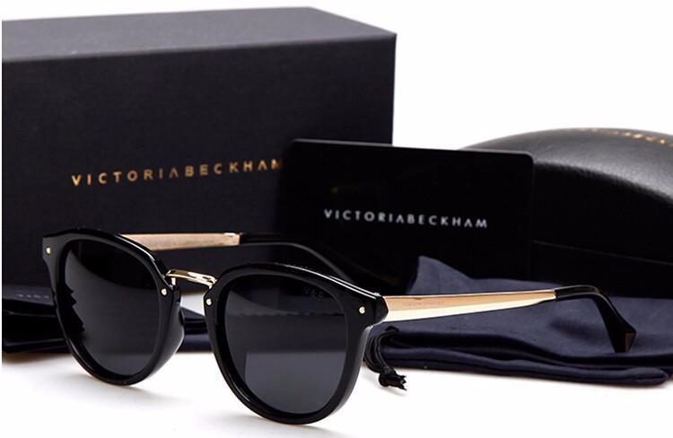 5143cba3637 New vintage Luxury polarized sunglasses Mens women brand designer sun  glasses Anti UV victoria beckham gafas de sol original box