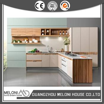 Good price customized new cheap melamine kitchen cabinets for Cheap new kitchen cabinets