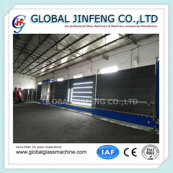 2018 Year Popular type Vertical Insulating glass washing production line machine with CE