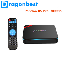 Pendoo X5 Pro RK3229 1G 8G TV Box digital tv converter box 1G/8G Manufacturer Android 6.0 set top