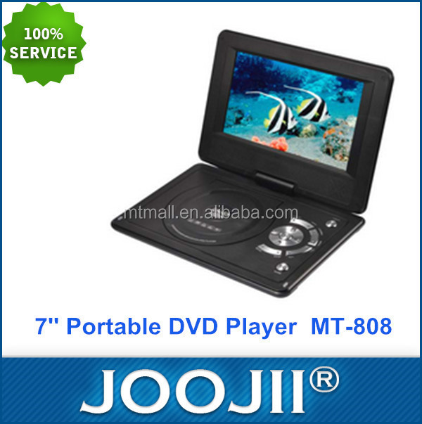 portable dvd player with tv tuner and radio/portable dvd player with usb/laptop portable dvd player