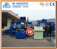 Oman price for hydraulic concrete brick making machine stock blocks forming equipment