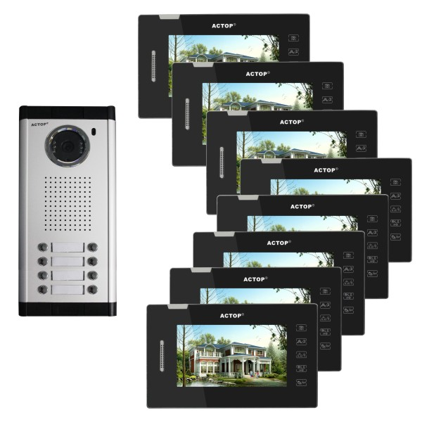 New Fashion Design Apartment Building Video Intercom
