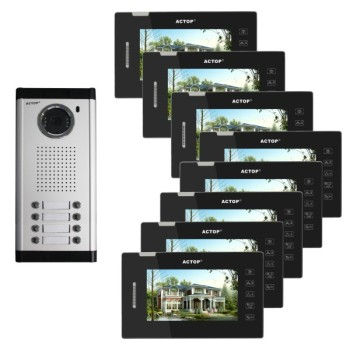 New Fashion Design Apartment Building Video Intercom System
