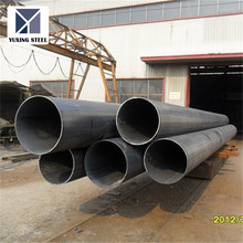 LSAW welded black steel pipe , carbon steel pipe