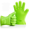 Colorful New Design Five Fingers High Heat Resistant Gloves With Mold Factory