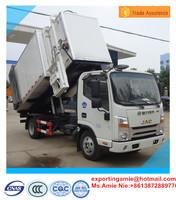 low price factory sale JAC 10m3 side self-loading medical garbage truck