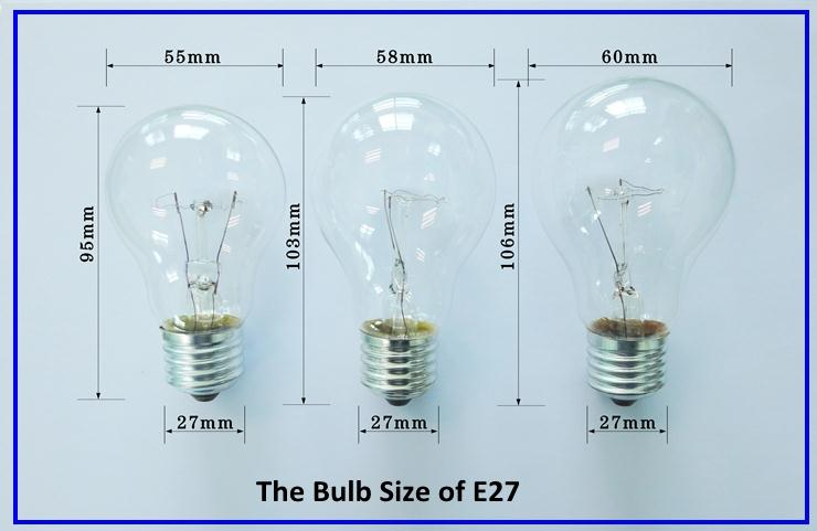 Chinese Supplier Best Sellers Products 220v 240v 110v 127v 130v 40w 60w 75w 100w Edison Classic Incandescent Bulb