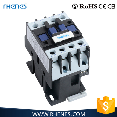Hot Chinese Product Electricity Types Of 12A 4P 3NO+1NO AC Magnetic Contactor