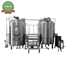 1000l Steam Beer Brew Equipment Brewing System