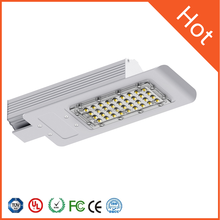 40W factory supply low price sliver housing led street lamp
