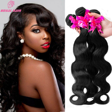 7a Brazilian Virgin Hair 3 Bundles Brazilian Body Wave weave SOFT THICK Brazilian Hair Natural Human