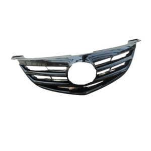 high quality customized car parts chrome mesh front grille for MAZDA 3