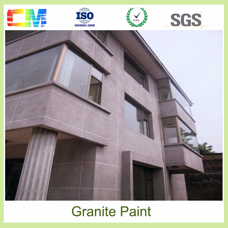 Hot sale environmental friendly material non toxic Granite exterior wall paint