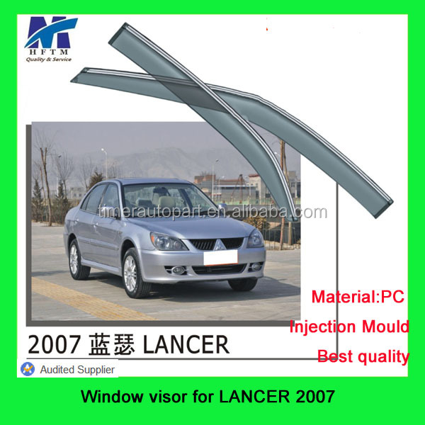 For Lancer 2007 car accessories online Sun vent window visor