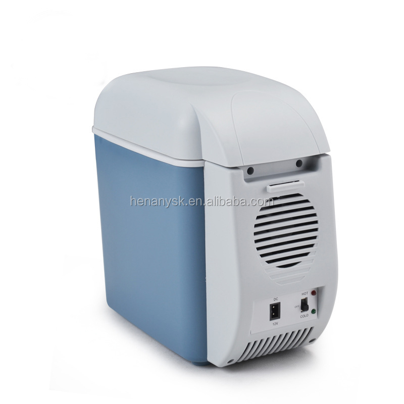 7.5L High-Efficiency Energy-Saving Car Refrigerator Mini Fridge Refrigerator for Car Hot and Cold Refrigerator