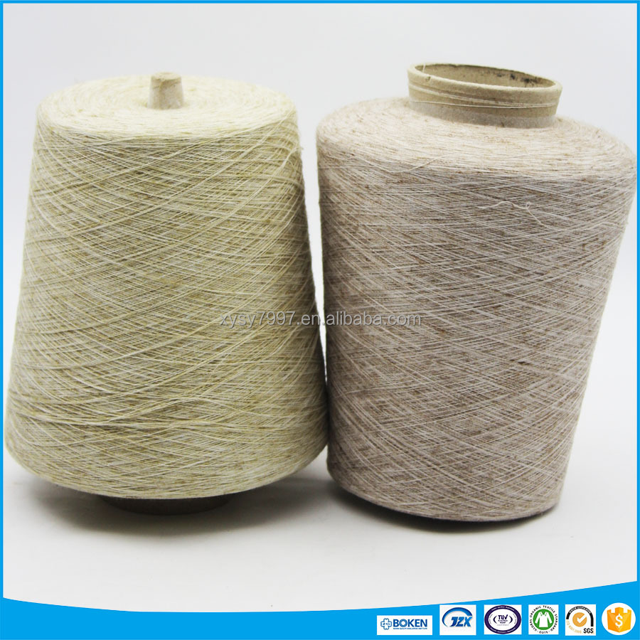 wholesale linen polyester blended sock yarn