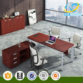 modern office counter table. New Design Fashion Office Furniture Modern Counter Table Executive Desk With Side Cabinet No 3D O