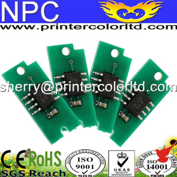 For Xerox Phaser 6010 Toner Reset Chips!For Africa South America Eastern Europe Version! Black/Magenta/Cyan/Yellow