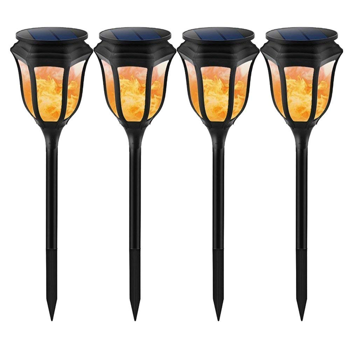 Goldmore Solar Tiki Fakkels 96 leds Dansen Flickering Flame Solar Tuin Landschap Flicker Light voor Outdoor