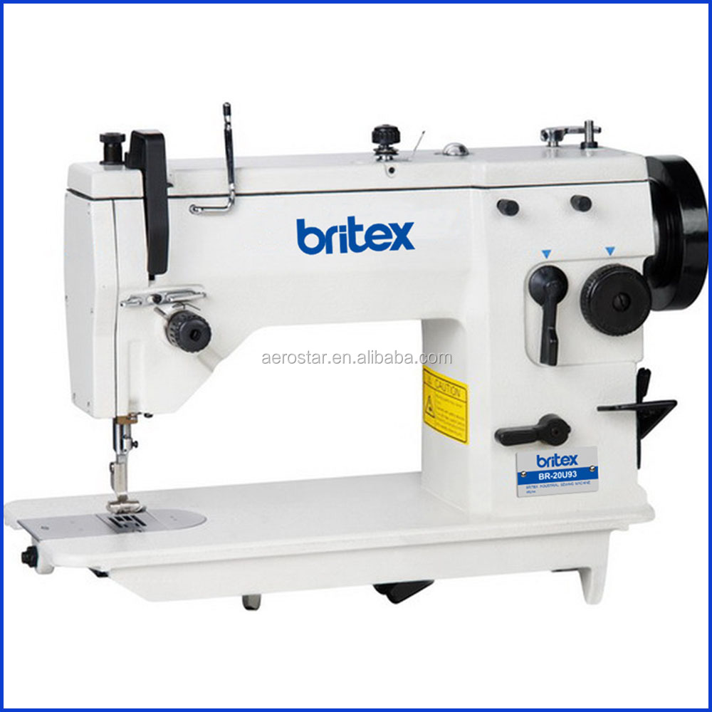 BR-20U93 Industrial Zigzag Sewing Machine With Automatic Lubrication System Price Zig Zag Sewing Machine