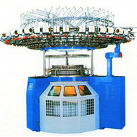 Computerized Circular Knitting Machine With Lycra