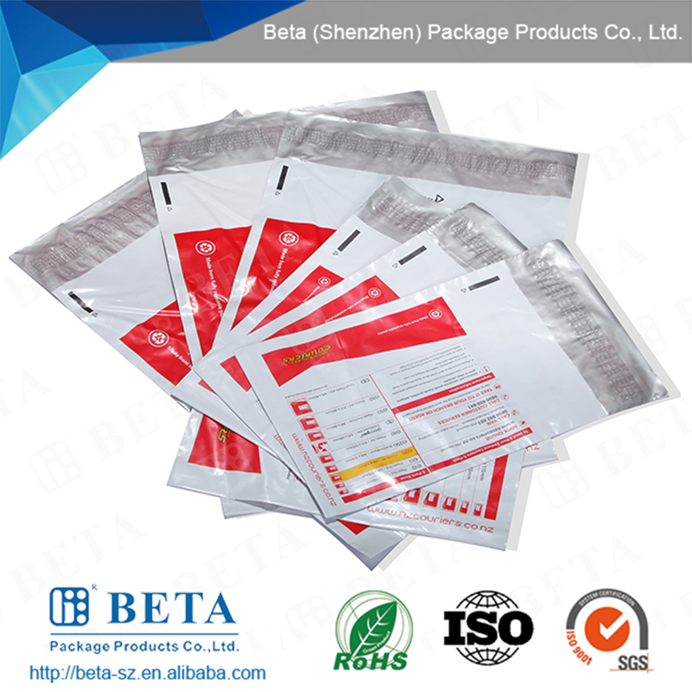 Custom Logo Printed Poly Mailing Bag with Seal Tape
