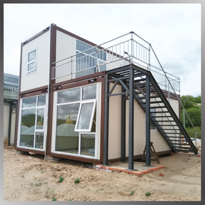 Perfab container 20ft steel structure prefab family home modern container house