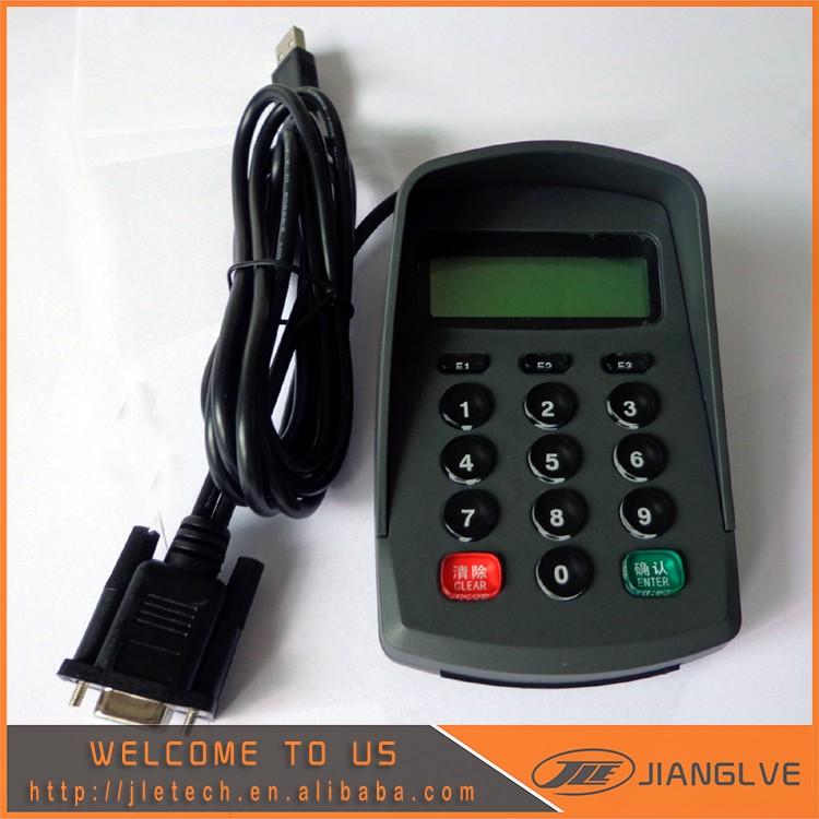Usb+rs232 Customizable Pinpad /password Keyboard / Numeric Keypad Jle511da  With Lcd - Buy Usb+rs232 Numeric Keypad,Rs232 Password