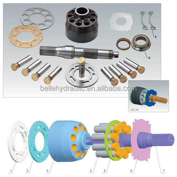 Eaton 4621(4631) 5421()5431 7620(7621) 78461/78462 6423 PVXS180 hydraulic pump part with good price