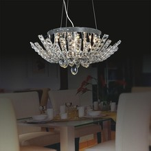 high quality modern crystal ceiling lamp for living room