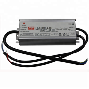 600W 25A 24 Volt Transformer HLG-600H-24B Meanwell Waterproof LED Power Supply 24V