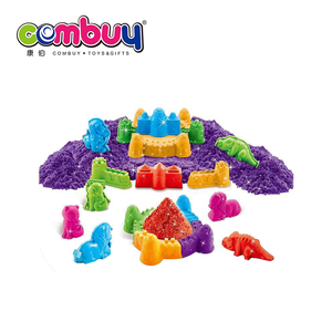 Play 3D animal castle kids space magic sand with pool