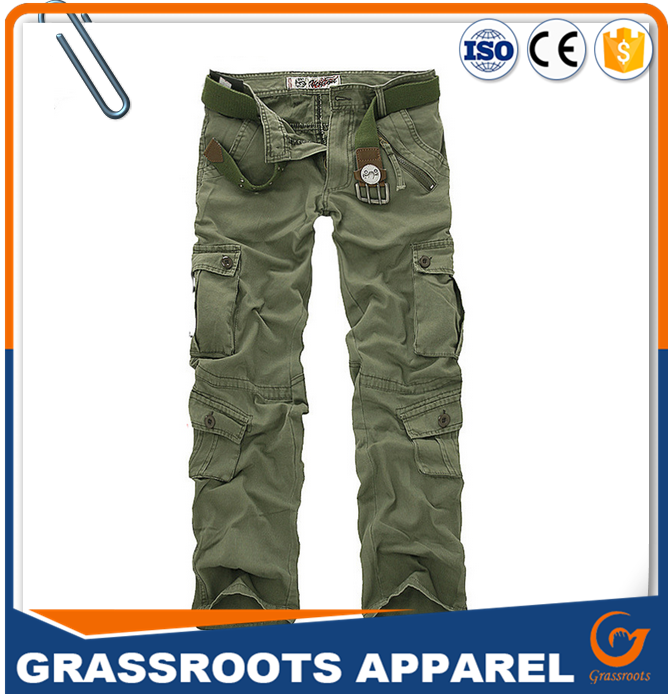 High quality customized workwear pant workers overall uniforms security workwear men's with pockets