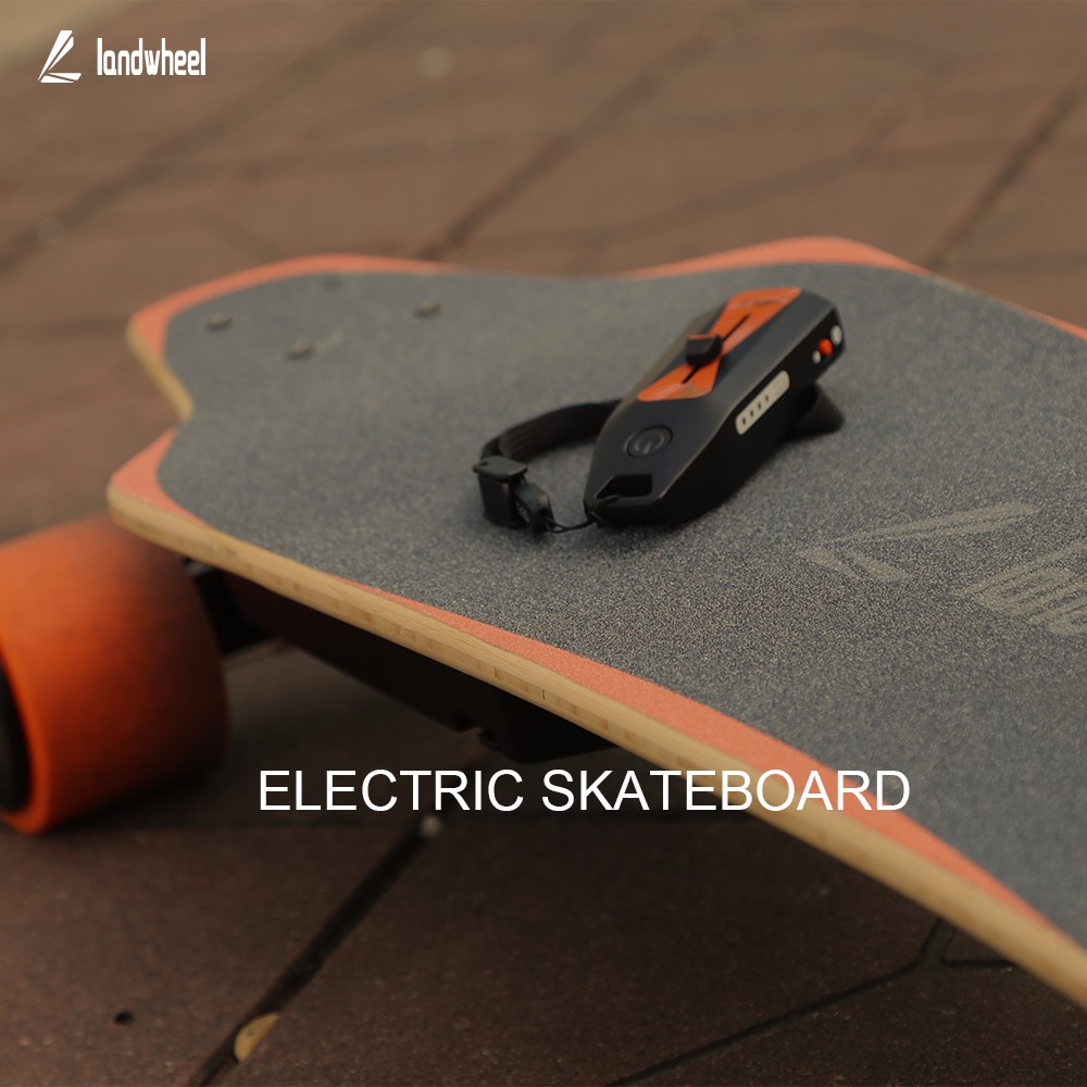 World's 1st Electric Skateboard Powertrain on landwheel! Convert any skateboard to an electric