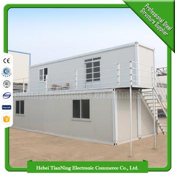 Moderna costo playa oficina china cabina de acero - Casas contenedor precios ...