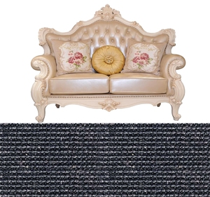 low price quick dry natural colour sisal carpet with cut pile structure