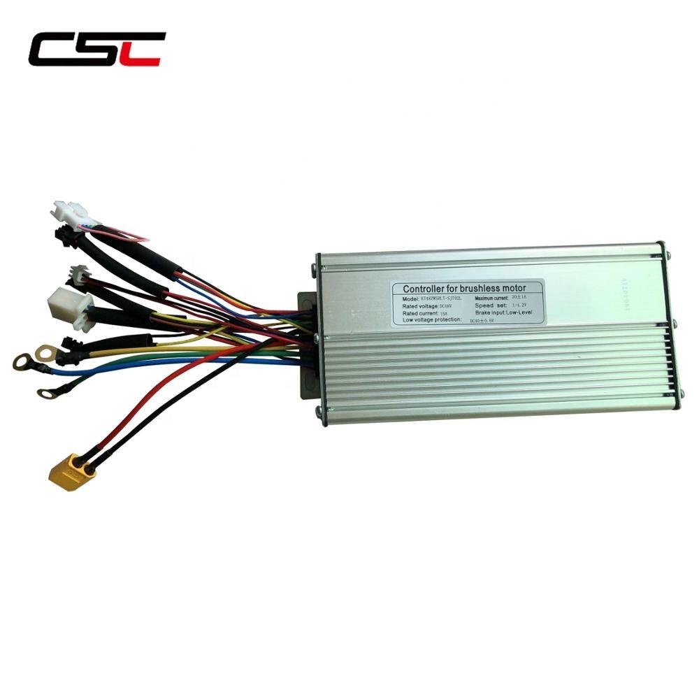 ebike 36V 48V 500W Electric bicycle Brushless controller Dual Mode Hall Sensor