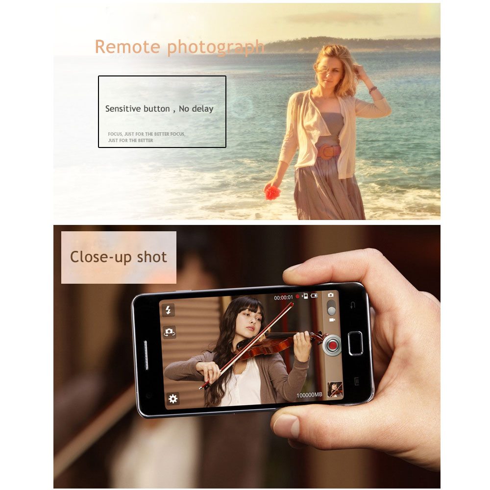 Hot sales wireless bluetooth remote shutter for iphone android phone