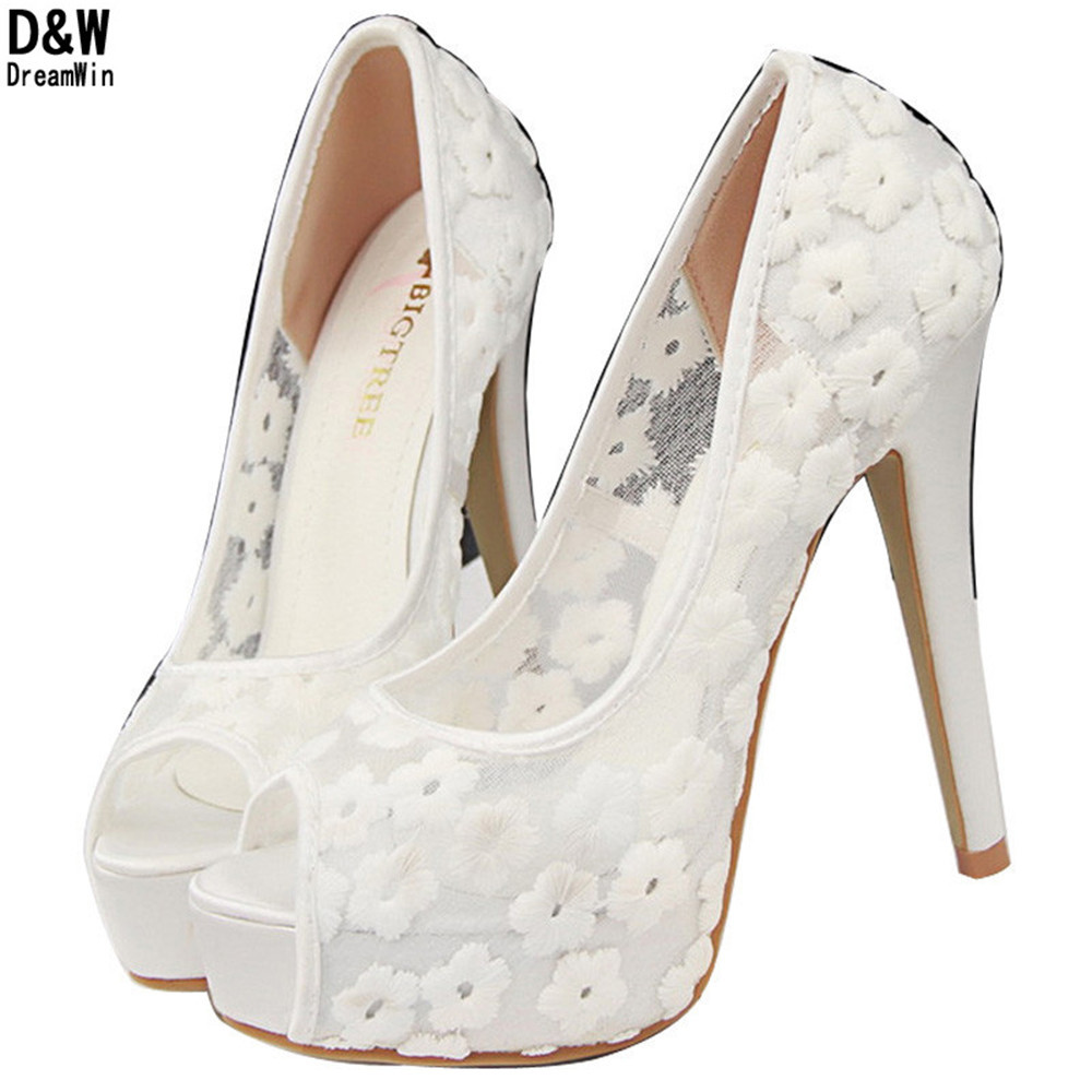 ec57a78cb852 Get Quotations · Women Sweet Fashion Sexy Cut Out Platform Heels Wedding Party  Shoes Ladies New High Heels Shoes