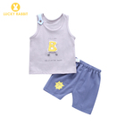 Newborn Baby Boys Summer Clothes Vest Tops T-shirt And Short Pants Sets Outfit For Toddler Baby Boy