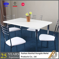 Habitat Dining Set-Lance Oak Table and 4 Jerry Chairs White