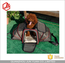Unique large space pet dog carrier airline approved bag