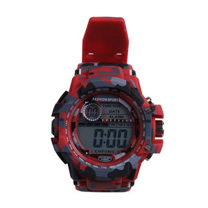 Hot Fashion Classic Outdoor Waterproof Backlight Digital Watch for Kids