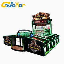 Hoge Winst <span class=keywords><strong>10</strong></span> Spelers Carnaval Game Race Paard Amusement Entertainment Game Roll De Ballen In Gat