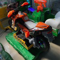 Amusement electronic 3D motorcycle racing game machine coin operated arcade video motor racing kiddie rides