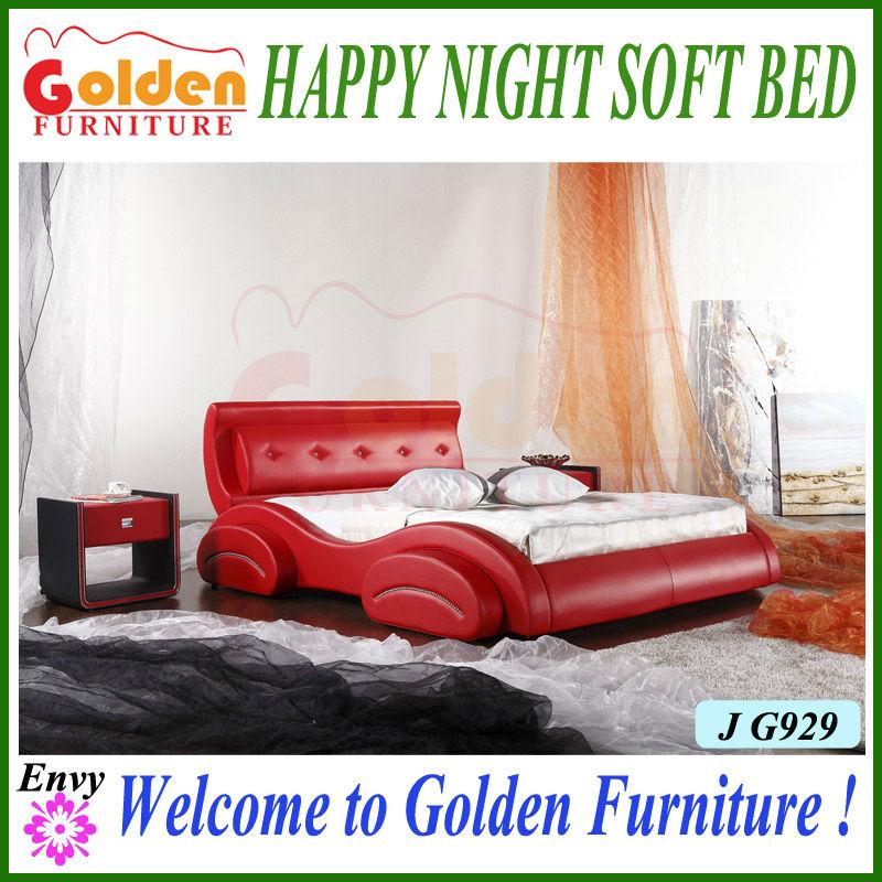Muebles de oro para adultos del sexo muebles de tamaño completo de coche cama para chica sexy g929# sobre la venta-Camas-Identificación del ...